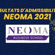 Résultats d'admissibilités NEOMA BS 2021