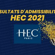 Résultats d'admissibilités HEC Paris 2021