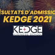 Résultats d'admission KEDGE 2021