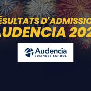Résultats d'admission Audencia 2021