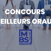Concours des meilleurs oraux 2021 – Montpellier BS