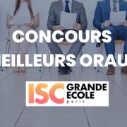 Concours des meilleurs oraux 2021 – ISC Paris