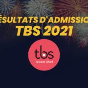 Résultats d'admission TBS 2021
