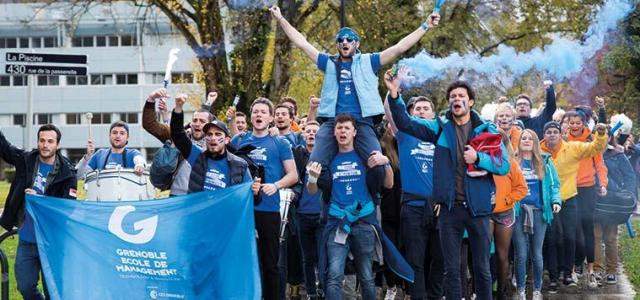 La folle vie associative et étudiante à Grenoble Ecole de Management