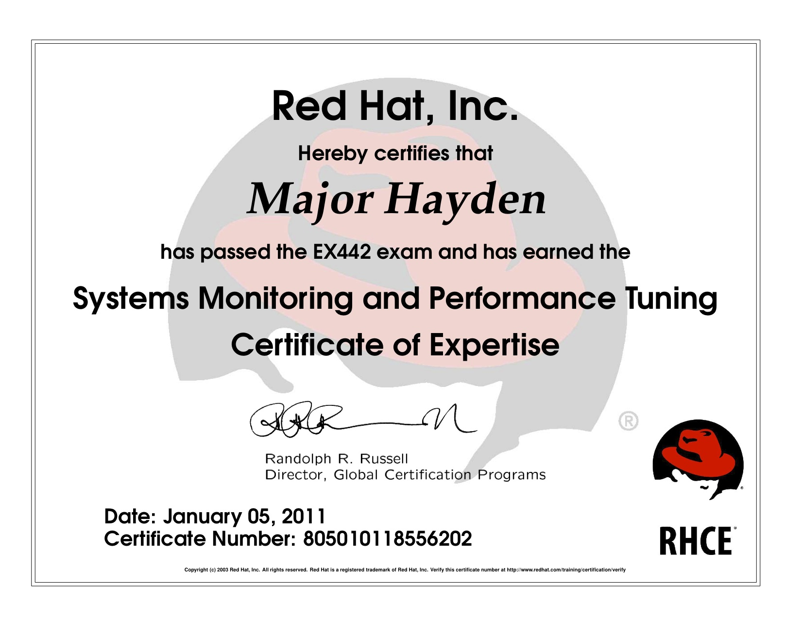 Red Hat Certified Engineer Resume Format One Rhca Exam Down Five To Go Major Io