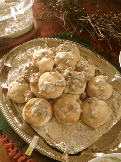 Addy Civil War party: Biscuit competition - 2nd place: Rose