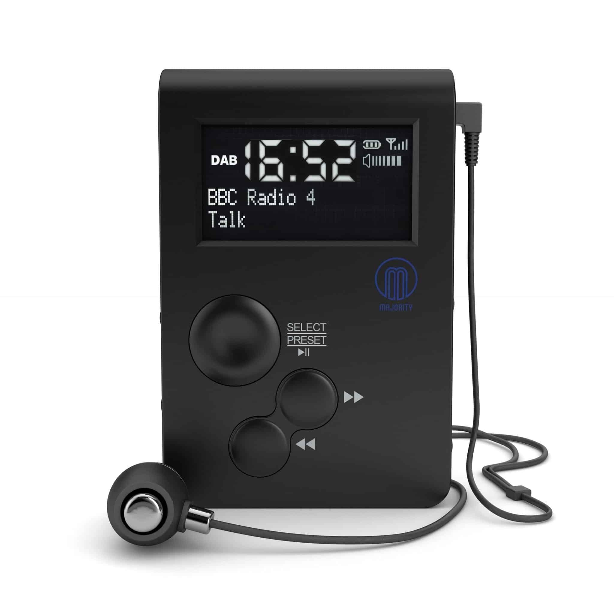 Majority Parkside Go Pocket DAB Radio
