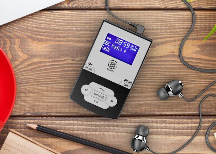 Majority Parkside II Pocket DAB Radio