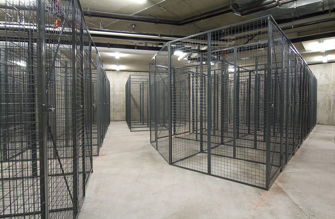Wire Mesh Lockers Major Partitions