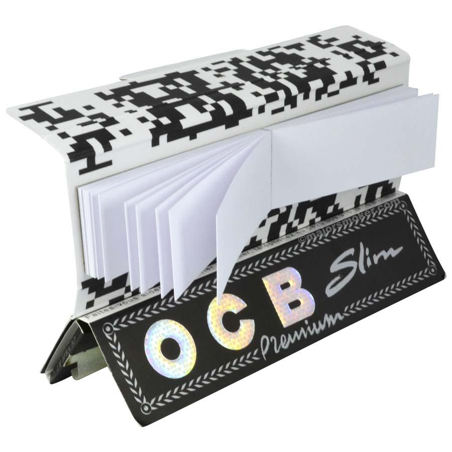 feuille ocb slim tips x1 feuille a rouler avec carton