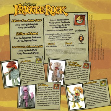 Fraggle Rock 002_Preview PG1