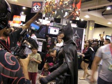 What's a Comic-Con without a Batman?