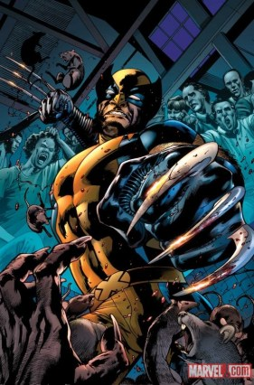 Regular cover by Bryan Hitch