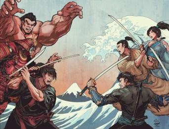 SamuraisBlood#2_Cover_SDCC