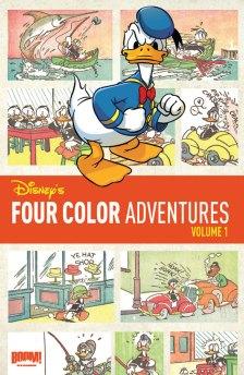 Disney'sFourColorAdventure_V1_CVR
