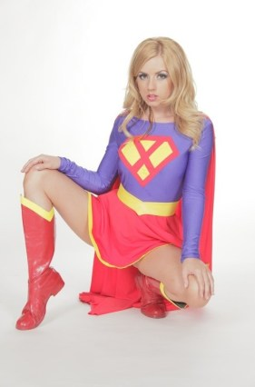 Lexi Belle as Supergirl