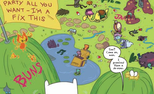 Sneak Peek Adventure Time 7 Major Spoilers Comic
