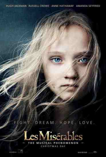 Les Miserables Young Cosette Poster
