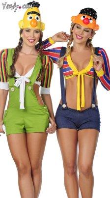 sexy-bert-and-ernie-costume