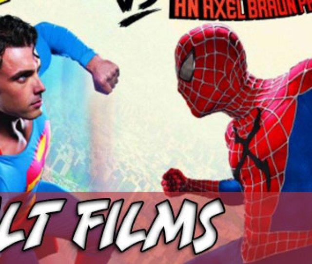 Adult Film Superman Vs Spider Man Xxx An Axel Braun Parody Arrives Next Week