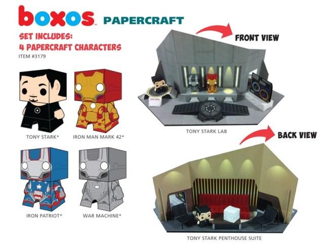 Funko-Papercraft-1