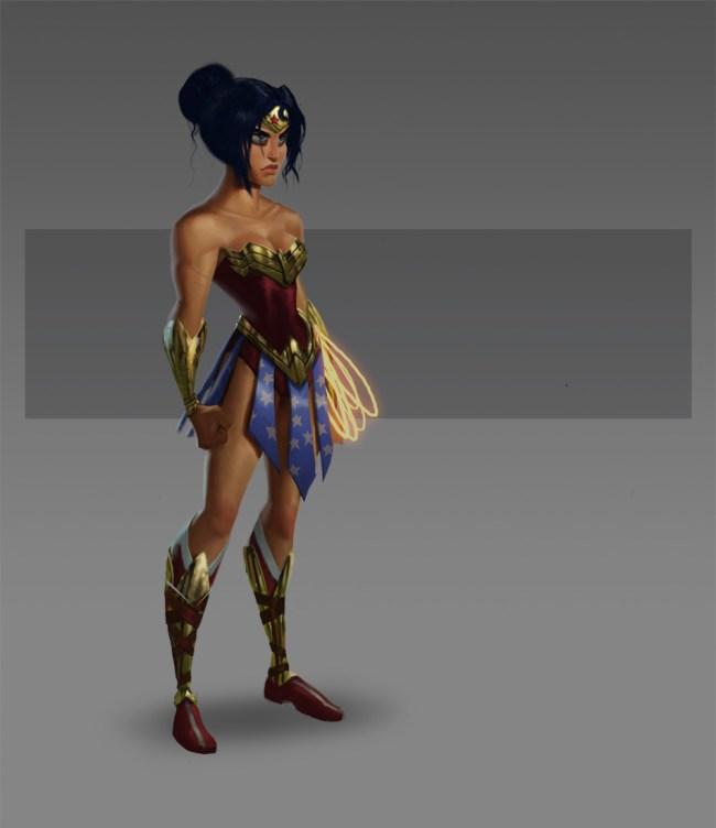 Pixar Wonder Woman