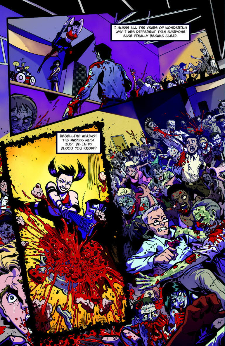 DeathClowns Pull List Previews: Zombies vs Cheerleaders