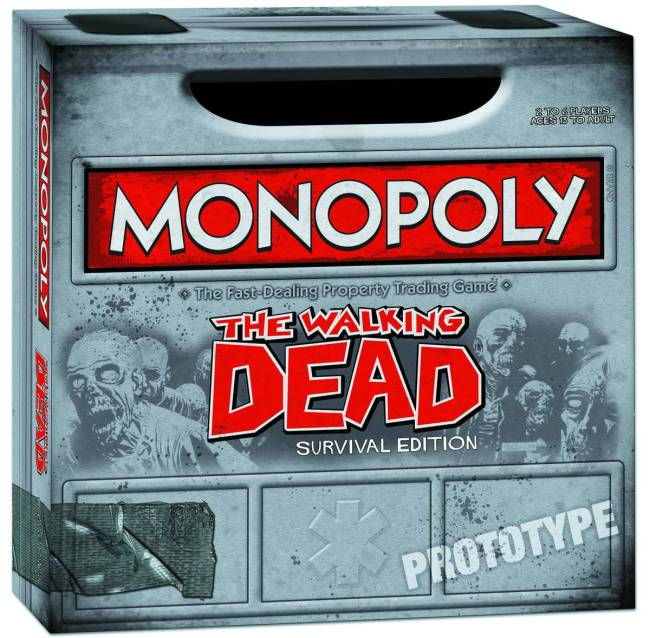 Walking Dead Comic Ed PX Monopoly