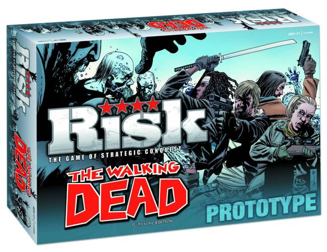 Walking Dead Comic Ed PX Risk