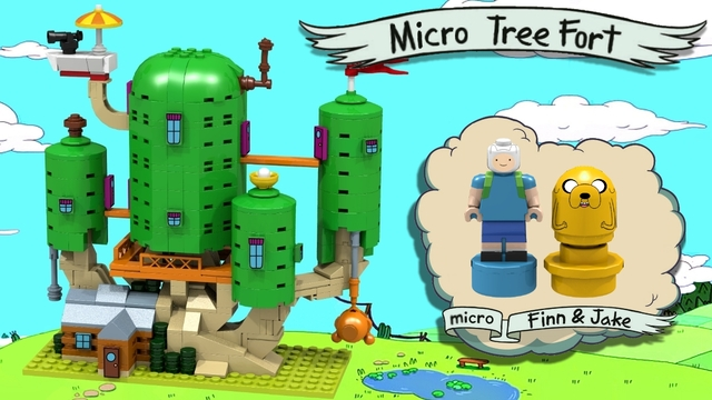 Adventure time tree house layout