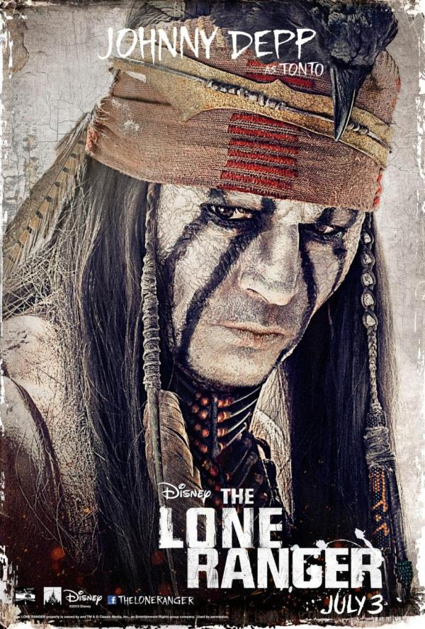 Johnny Depp Lone Ranger Movie