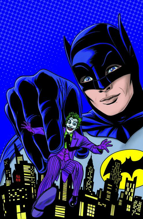 Batman '66 Print Cover