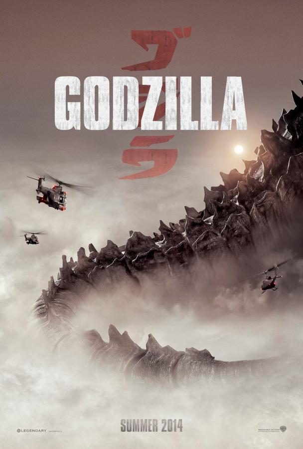 Godzilla SDCC poster