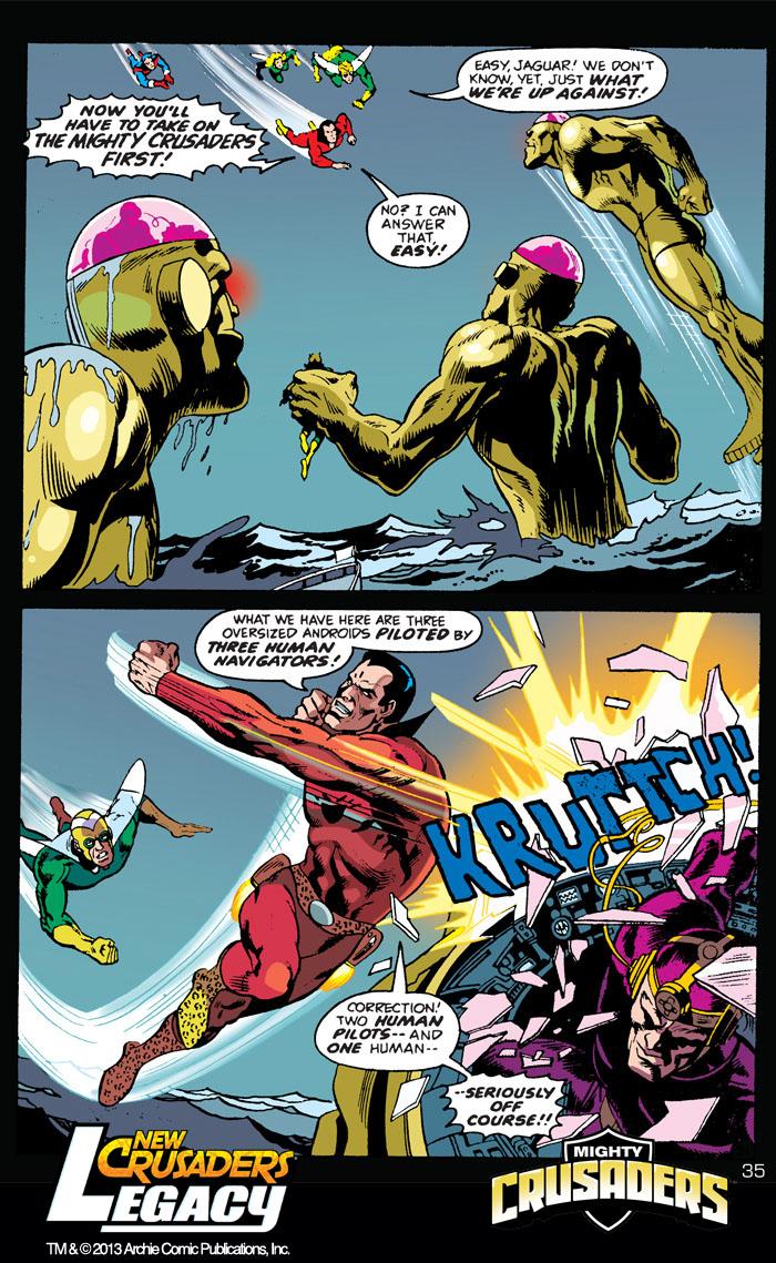 Archie comics archie comics sneak peek of the week major spoilers -  Newcrusaders_legacy 35