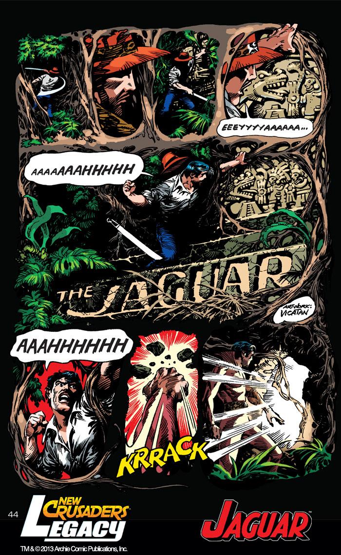 Archie comics archie comics sneak peek of the week major spoilers -  Newcrusaders_legacy 44