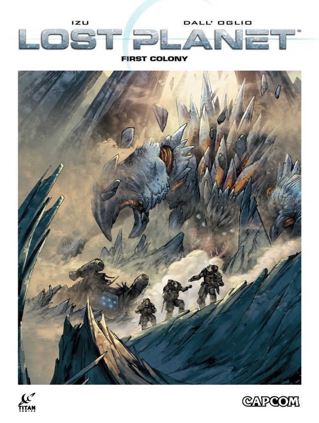 LOST PLANET First Colony cover