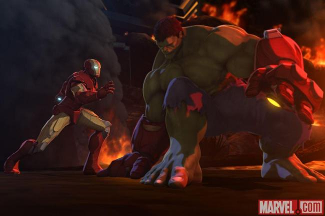 Hulk and Iron Man Heroes United_03