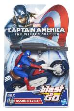 CAPTAIN-AMERICA-BLAST-N-GO-COMBAT-ASSAULT-CYCLE-In-Pack-A6873