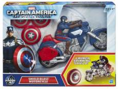 CAPTAIN-AMERICA-SHEILD-BLAST-MOTORCYCLE-In-Pack-A6301