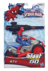 ULTIMATE-SPIDER-MAN-BLAST-N-GO-ATV-In-Pack-A6643