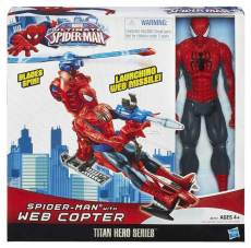 ULTIMATE-SPIDER-MAN-TITAN-HERO-SPIDER-MAN-wWEB-COPTER-In-Pack-A6747
