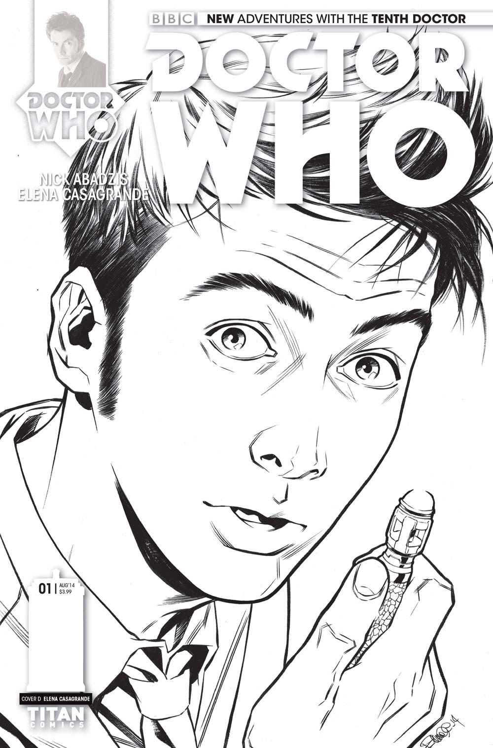 Titan Comics shows off Doctor Who 10 and 11 variant covers