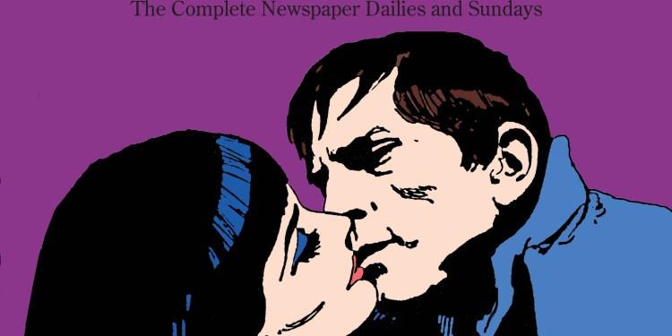 Dark Shadows Newspaper reprint coverCentered