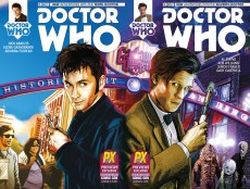 Doctor Who Tenth Doctor and Eleventh Doctor #1 SDCC Diamond variant
