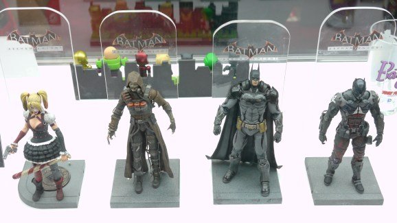 Batman Arkham Asylum Action Figures - Major Spoilers