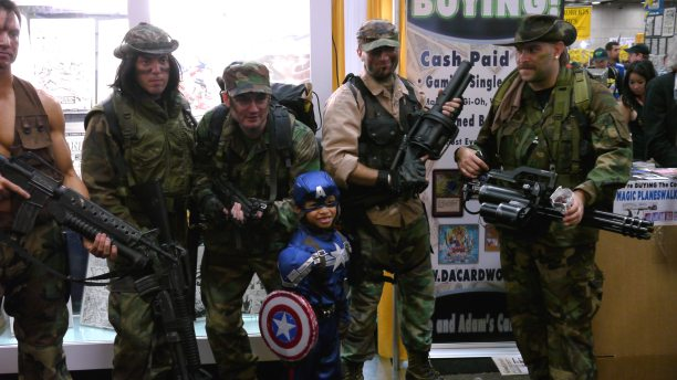 Predator Soldiers and Captain America