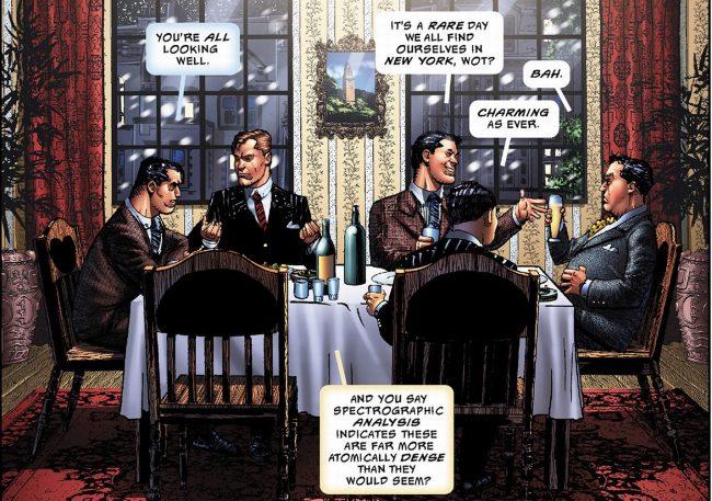Lamont Cranston with, Doc Savage, Tarzan, Nero Wolfe and Bulldog Drummond