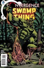 Convergence Swamp Thing_cover