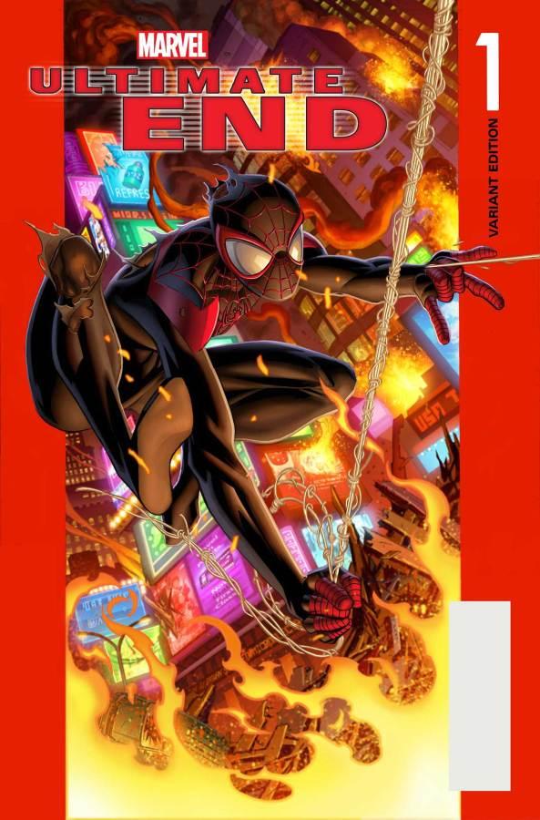 Ultimate_End_1_Bagley_Spider-Man_VariantF