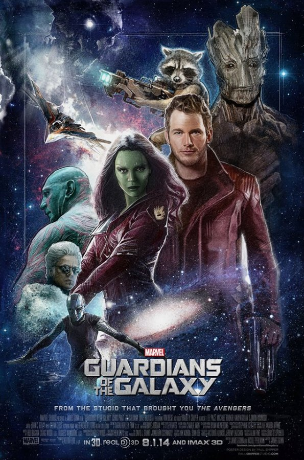 Stunning+GUARDIANS+OF+THE+GALAXY+Poster+Art+by+Paul+Shipper
